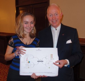 Tammy with Tony Buzan - Mind Maps Creator
